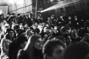 secret cinema underground screening