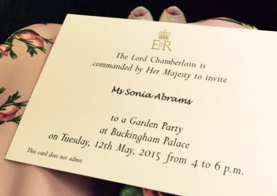 Event Managing afternoon tea with the Royal Family