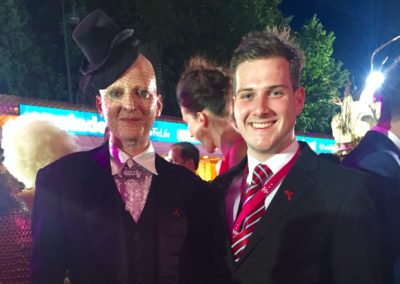 Our man in Vienna: Volunteering at the Life Ball