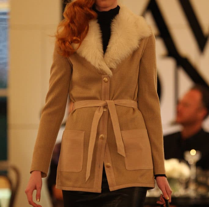 London fashion week catwalk model
