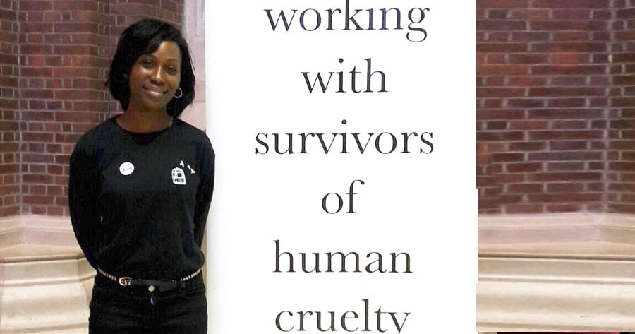 Image from Corporate Social Responsibility for working with survivors of human cruelty