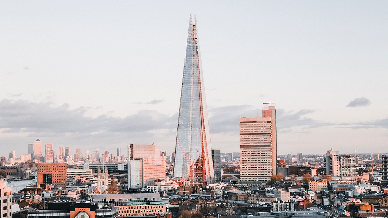 The Shard iconic venue in London